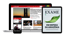 Site + Revista Digital + App Exame